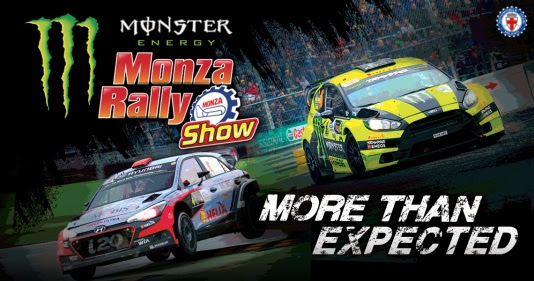MONSTER ENERGY MONZA RALLY SHOW : LO SPETTACOLO CONTINUA