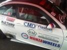 Parti in vetroresina per auto da competizione