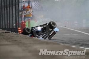 Formula Renault 3.5 Monza Crash