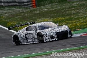 Test Audi R18 - R8 Monza