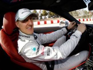 BRUTTO INCIDENTE SULLA NEVE PER MICHAEL SCHUMACHER