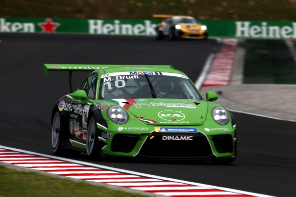 PORSCHE MOBIL1 SUPERCUP : WEEKEND IN SALITA PER IL TEAM DINAMIC