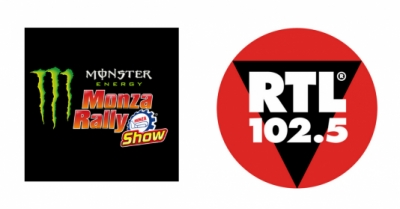 RTL 102.5 E' RADIO PARTNER DEL MONSTER ENERGY MONZA RALLY SHOW