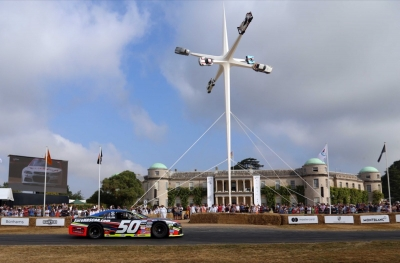 FANTASTICO WEEKEND PER LA SERIE EURONASCAR AL GOODWOOD FESTIVAL